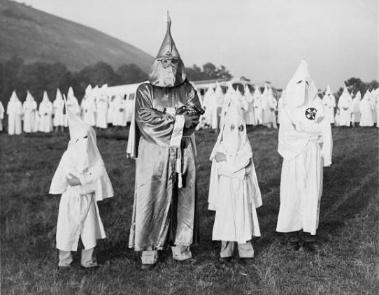 discuss the factors that contributed to the rebirth and rapid growth of the ku klux klan in the earl Ku klux klan: a history of racism and violence opponent the rapid rise of the ku klux klan in oregon illustrates factions contributed to the klan's.