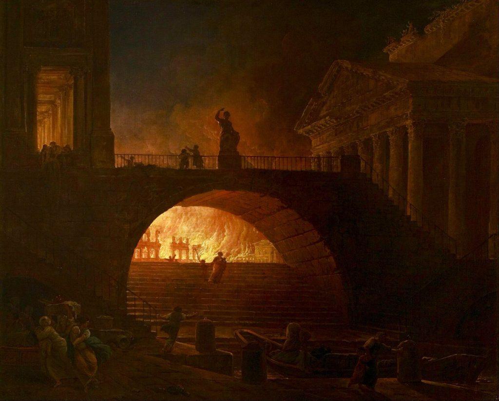 картинки рима в огне разные