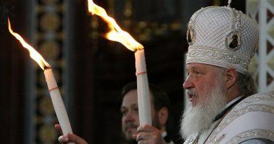 Патриарх Кирилл призвал свою паству не ходить в храмы в условиях эпидемии