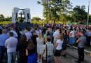 В Украине открыли мемориал в память об убитых боевиками служителях