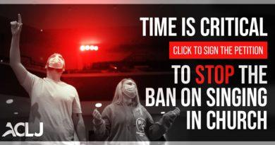 Верующие Калифорнии подписывают петицию против запрета на пение а церквях из-за COVID-19