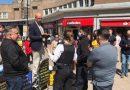 В Лондоне пожилого проповедника арестовали с применением силы за библейскую проповедь на улице