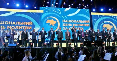 Тысячи верующих приняли участие в Национальном дне молитвы за Украину